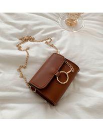 Дамска чанта в кафяво - код B45
