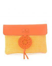 Дамска чанта в оранжево - код OY-1202