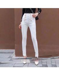 Панталон - код 603 - бяло