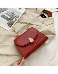 Дамска чанта в бордо - код B119