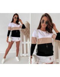 Ефектна дамска блуза - код 9966 - 5
