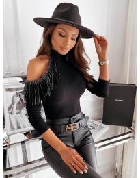 Дамска блуза в черно - код  11464