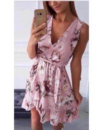Феерична рокля в розово - код 739