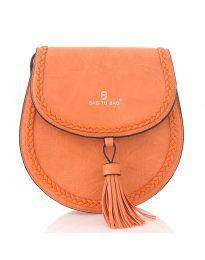 Дамска чанта в оранжево - код HS - 88016