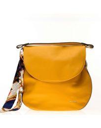 Дамска чанта в цвят горчица - код NH2816