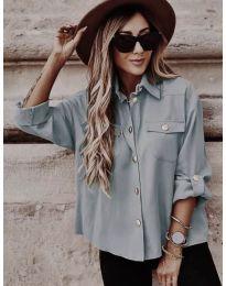 Дамска риза в цвят мента - код 5293