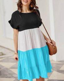 Свободна дамска рокля - код 1039 - 4