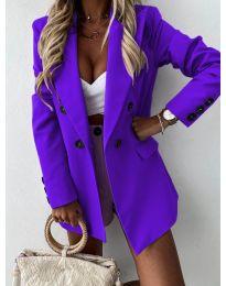 Елегантно дамско сако в лилаво - код 815