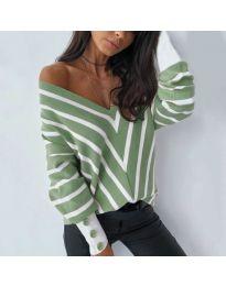 Елегантна блуза в зелено - код  6311