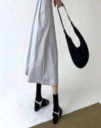 Ежедневна дамска чанта в черно - код B490