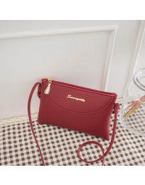 Дамска чанта в бордо - код B75