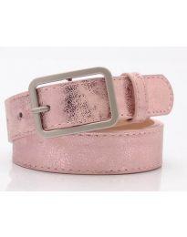 Дамски колан в розово - код P103