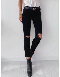 Черен панталон - код 5159