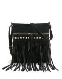 Дамска чанта в черно - код B50