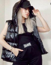 Дамски елек в черно - код 2530