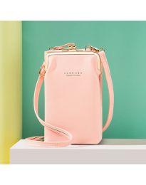 Дамска чанта в розово - код B148
