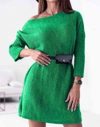 Дамска рокля в зелено - код 5142