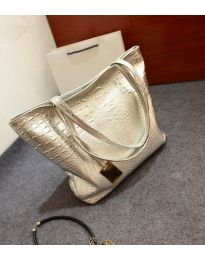 Дамска чанта в сребристо - код B1