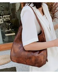 Дамска чанта в кафяво - код B5