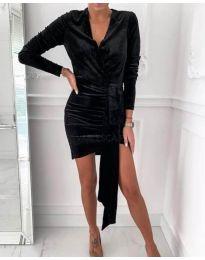Дамска рокля в черно - код 62688