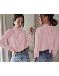 Дамска блуза в розово - код 833