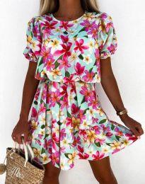 Атрактивна дамска рокля - код 6985 - 4