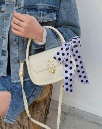 Дамска чанта в бяло - код B437