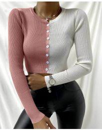 Екстравагантна дамска блуза - код 6366 - 6