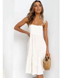Дамска рокля в бяло - код 630