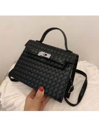 Дамска чанта в цвят черно - код B153