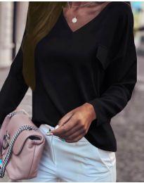 Дамска блуза в черно - код 894