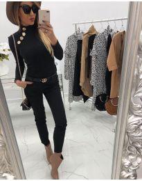 Дамска блуза в черно - код 313
