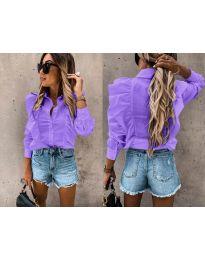 Дамска риза в лилаво - код 872