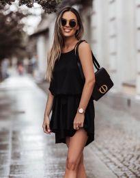Феерична рокля в черно - код 2104