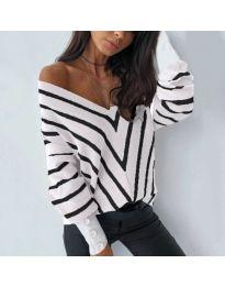 Елегантна блуза в бяло - код 6311