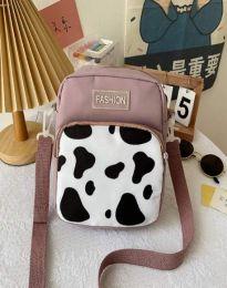 Атрактивна дамска чанта в лилаво - код B578