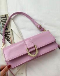 Дамска чанта в лилаво - код B442