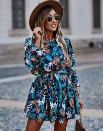 Ефектна дамска рокля - код 2983 - 1