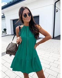 Феерична рокля в зелено - код 632