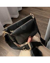 Дамска чанта в черно - код 3344