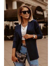 Дамско сако в тъмно синьо - код 2900