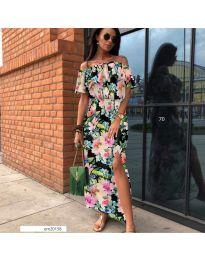 Феерична рокля с флорален десен - код 525 - 6