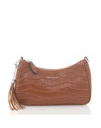Дамска чанта в кафяво - код JW6489