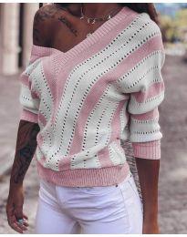 Дамска блуза в розово - код 786
