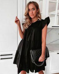 Свободна рокля в черно - код 2666