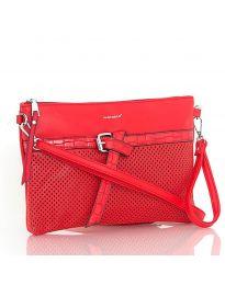 Дамска чанта в червено - код LS 589
