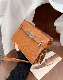 Дамска чанта в кафяво - код B438