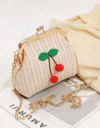 Дамска чанта в цвят шампанско - код B312