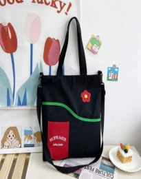 Ежедневна дамска чанта в черно - код B577