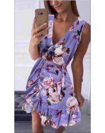 Феерична рокля в лилаво - код 739